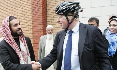 Boris Johnson at ELM