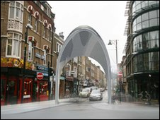 Brick Lane arches