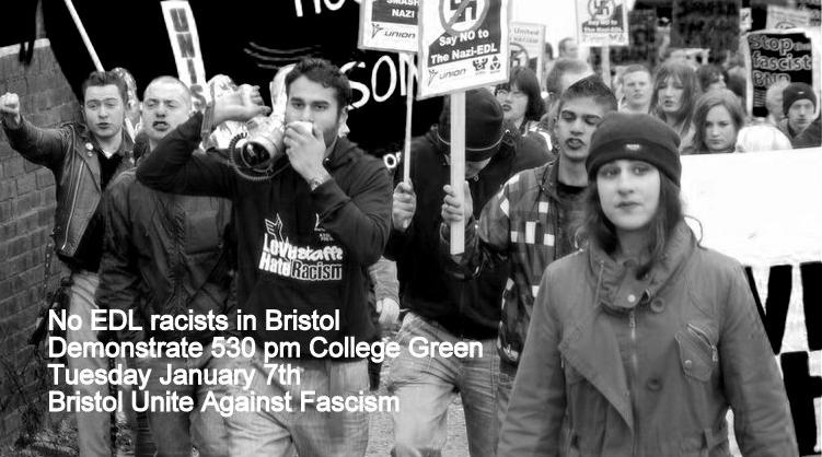 Bristol UAF anti-EDL demonstration