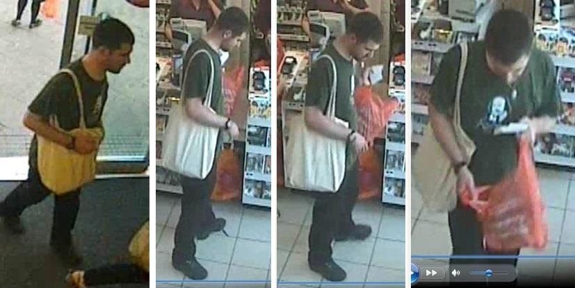 Bristol spitting suspect CCTV images