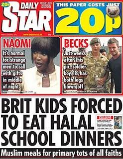 Brit Kids Forced to Eat Halal