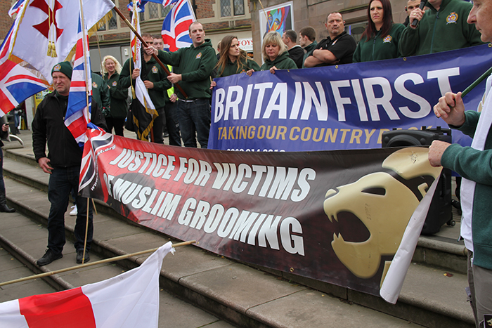Britain First Rotherham October 2014