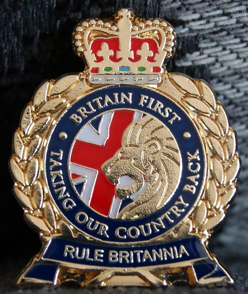 Britain First badge