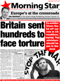 Britain sent hundreds to face torture