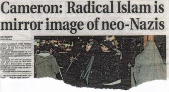 Cameron - Radical Islam
