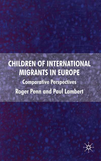 Children of International Migrants in Europe