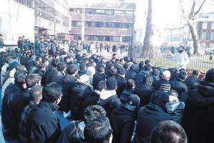 City University protest