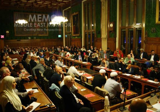 Cold War on British Muslims meeting