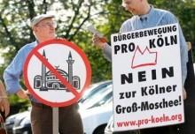 Cologne mosque protest