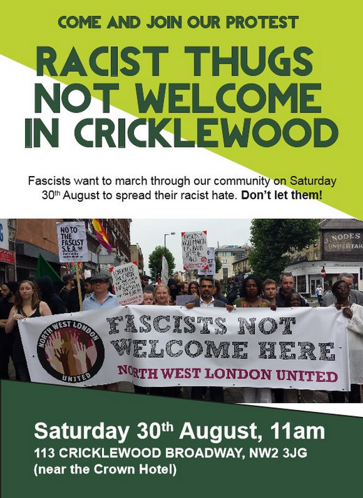 Cricklewood anti-SEA protest August 2014