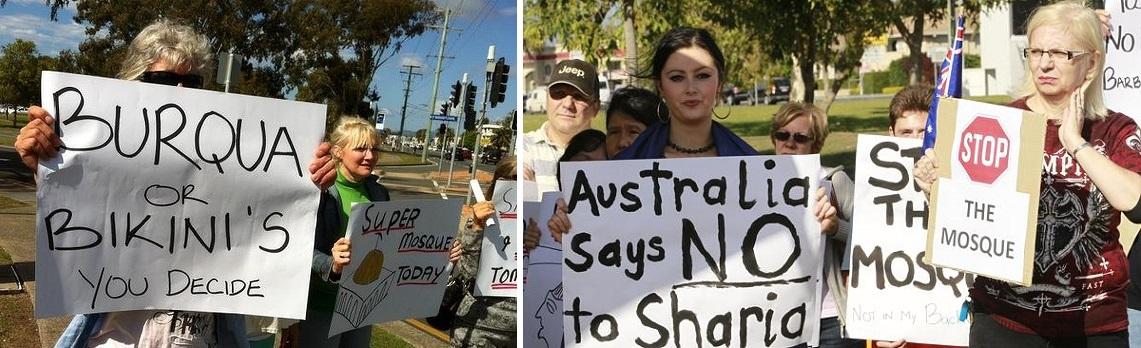 Currumbin anti-mosque protest (4)
