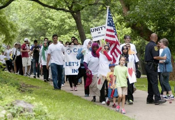 Dallas Walk Against Islamophobia