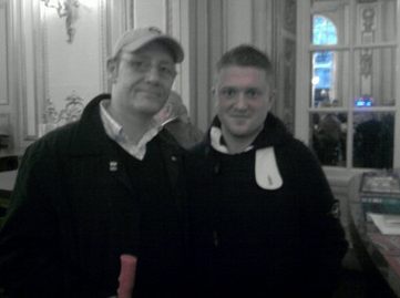 Daryl Hobson with Stephen Lennon