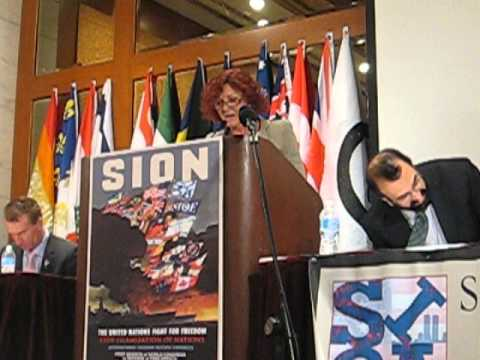 Debbie Robinson At SION conference