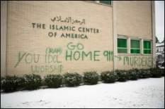Detroit mosque vandalised