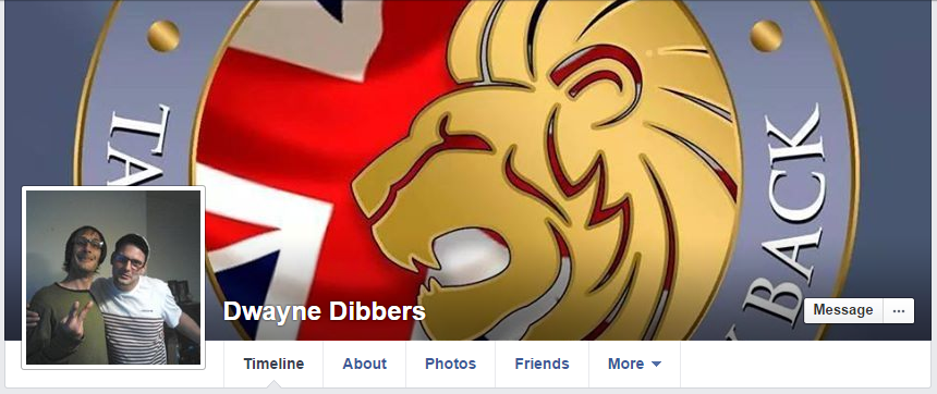 Dwayne Dibbers Facebook page