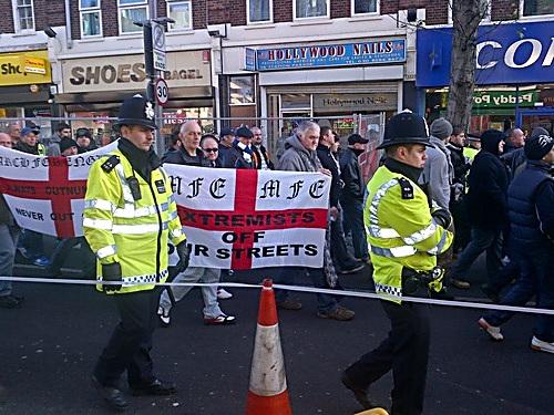 EDL Barking January 2012