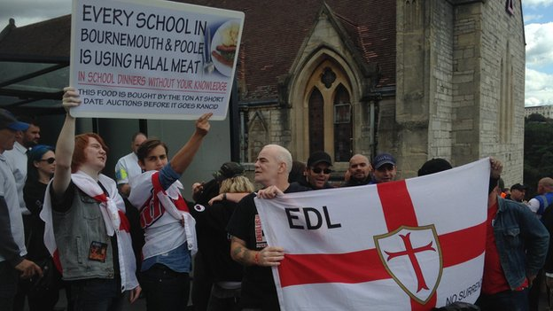 EDL Bournemouth August 2014