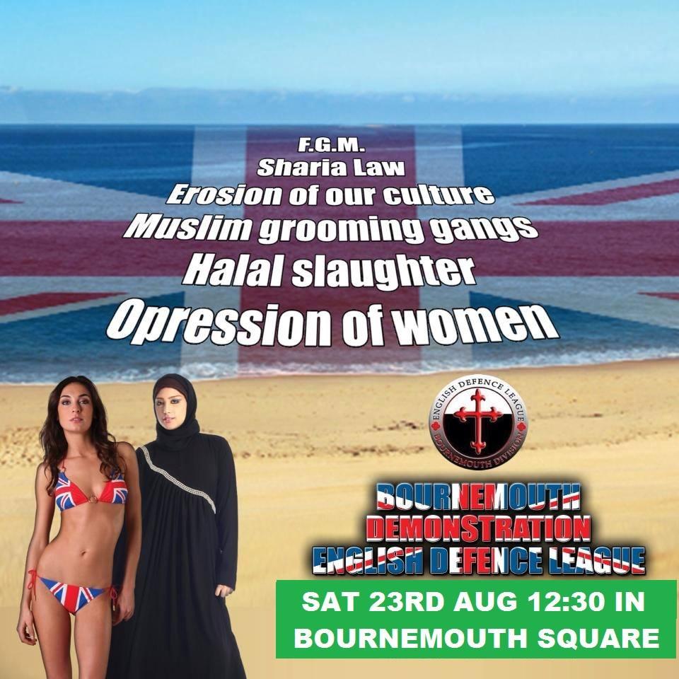 EDL Bournemouth demo ad