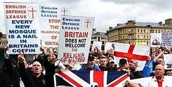 EDL Bradford placards