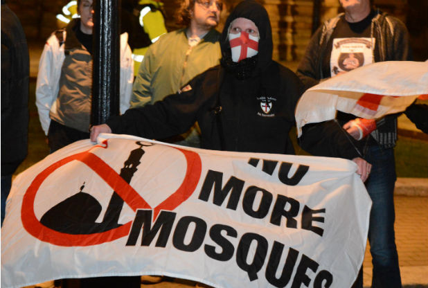 EDL Bristol anti-mosque protest