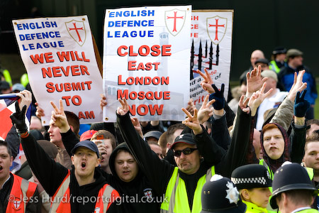 EDL Close East London Mosque