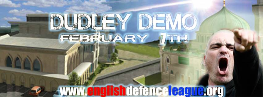 EDL Dudley protest ad