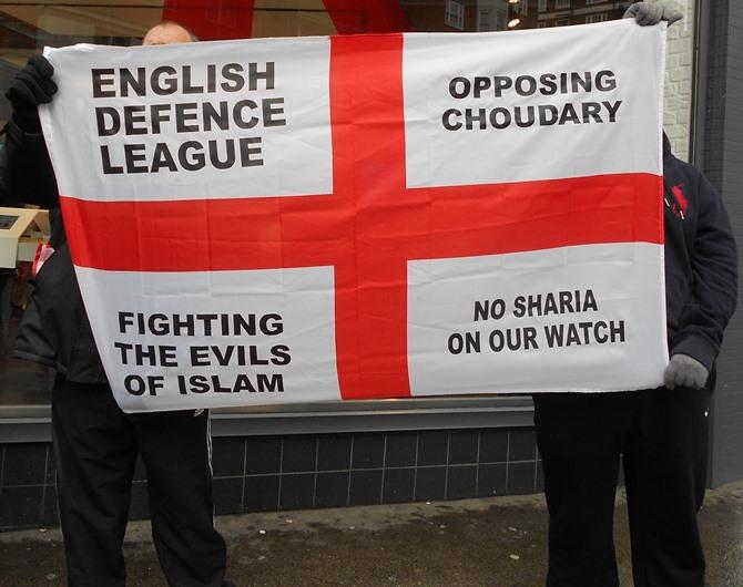EDL Edgware Road protest (2)