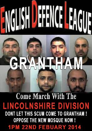 EDL Grantham demo ad
