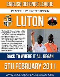 EDL Luton February 2011