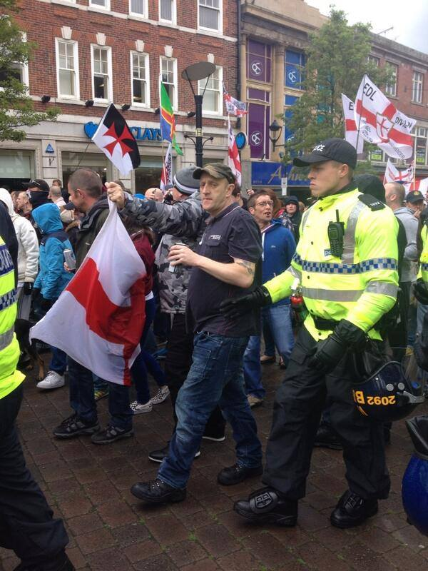 EDL Rotherham May 2014