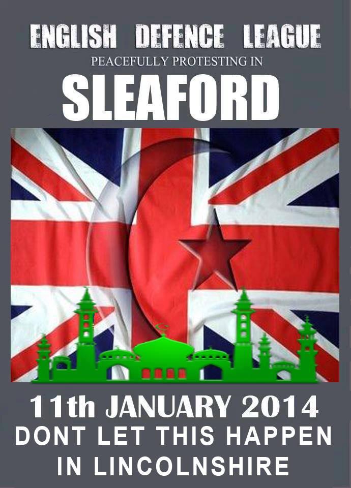 EDL Sleaford demo ad