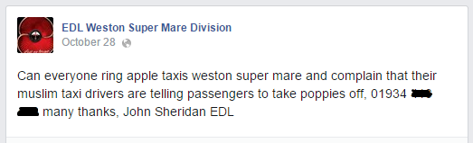 EDL Weston Super Mare Division Apple Taxis campaign