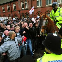 English Defence League protest