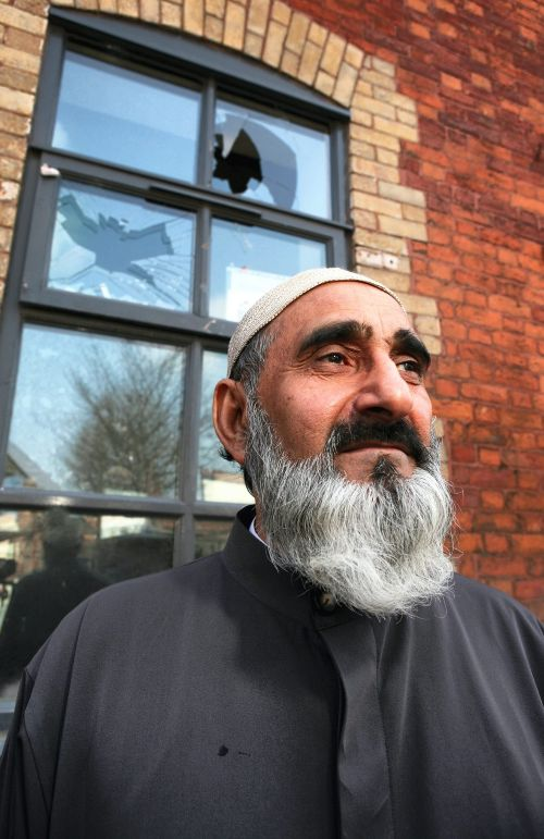 Eccles mosque attacked