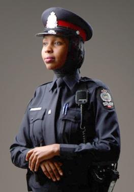 Edmonton police hijab