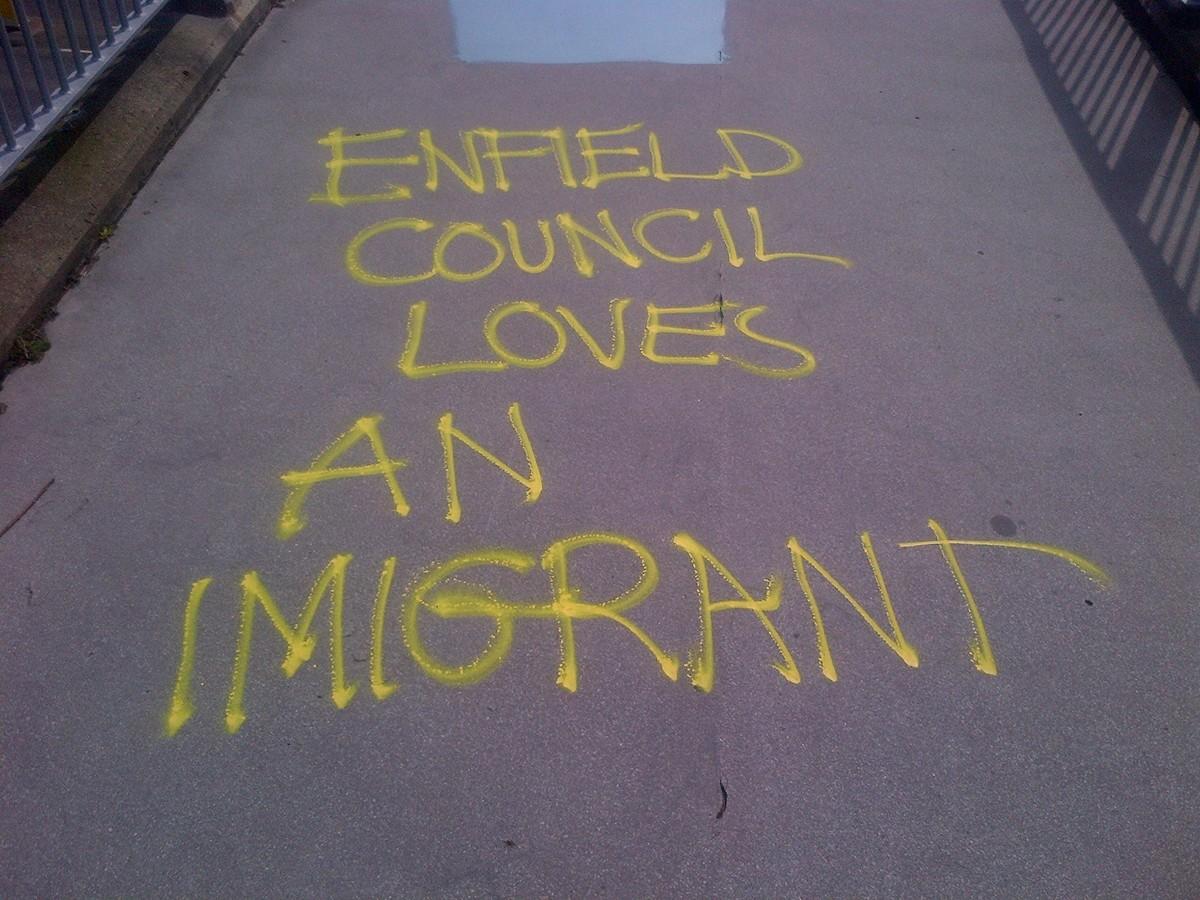 Enfield graffiti (3)