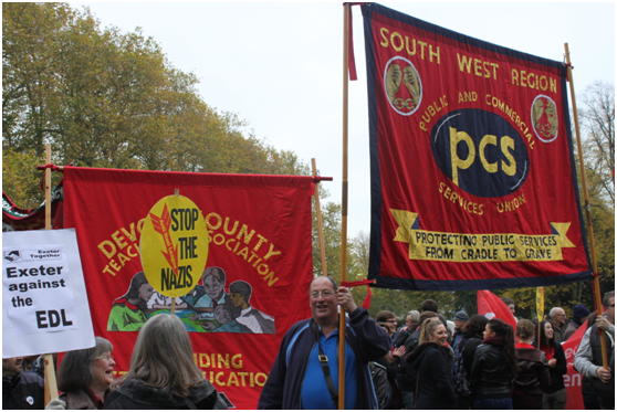 Exeter Together demo banners