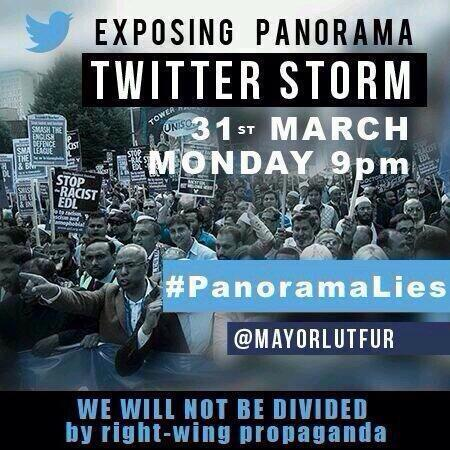 Exposing Panorama Twitter Storm