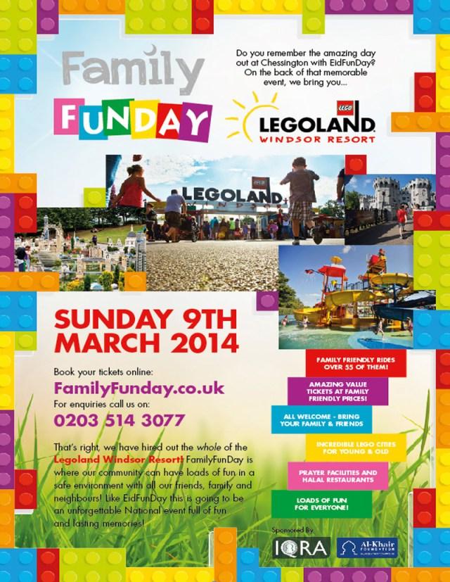 FamilyFunDay Legoland ad