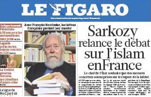 Figaro Sarkozy
