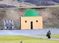Firing range mosque