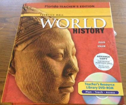 Florida World History textbook