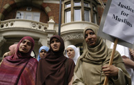 Forest Gate protestors