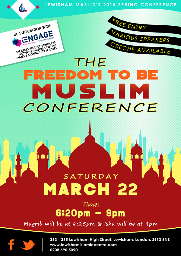 Freedom to be Muslim conference