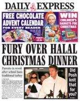 Fury Over Christmas Dinner