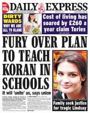 Fury Over Plan to Teach Koran