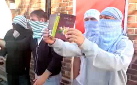 Gateshead Quran burning