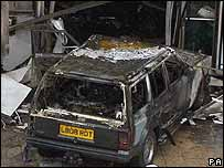 Glasgow car bomb