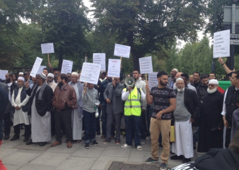 HSBC protest